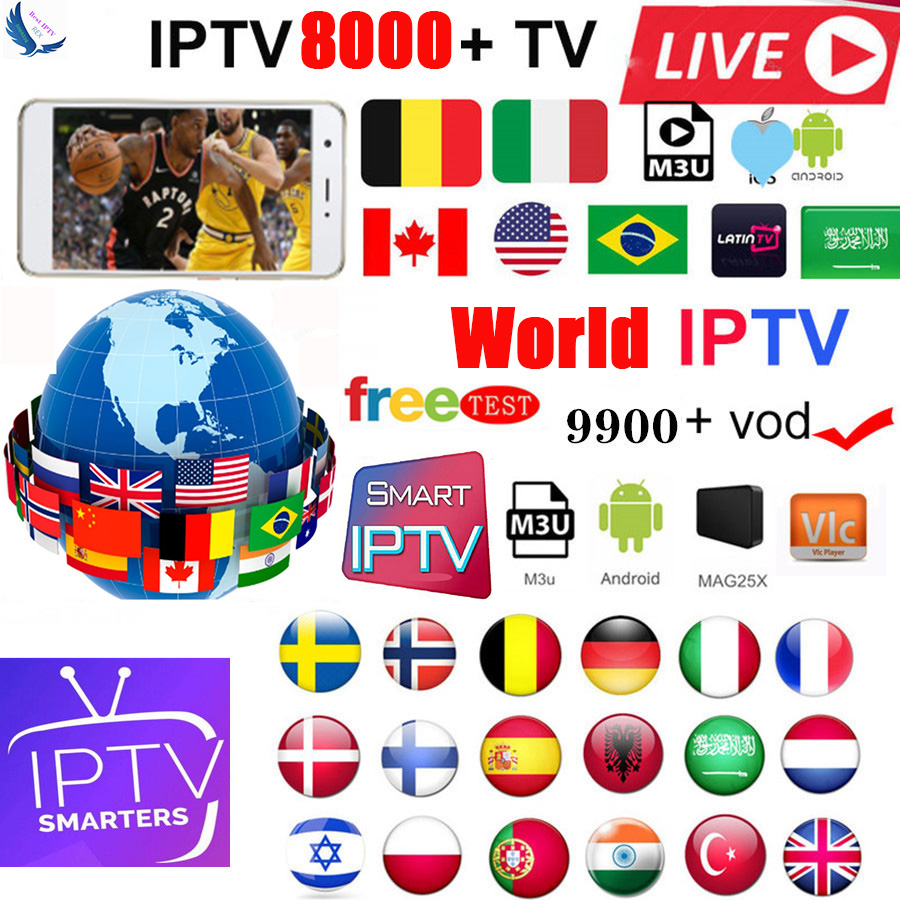 Europe IPTV Subscription Rocksat Nordic  UK German Arabic Dutch Sweden  Poland Portugal Smart TV IPTV M3U 7500 Live