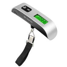 Вес весы чемодан багажные весы с ЖК-дисплеем, висящий цифровой Вес Весы Ручной прочный, аксессуары для путешествий, 50 кг домашний Кухня