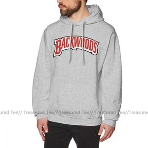 Image 4 - Backwoods Hoodie Backwoods Logo Hoodies büyük boy kırmızı svetşört erkek uzun kollu sıcak gevşek pamuklu şık Hoodies