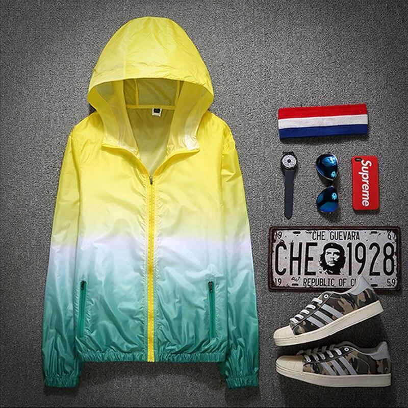 2021 Autumn Jacket for Women Hooded Patchwork  Women's Spring Windbreaker Light with Zipper Hooded Female Coat Outwear 5