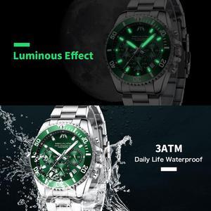 Image 4 - MEGALITH Reloj Hombre 2020 Fashion Casual Watch mężczyźni wodoodporny analogowy 24 godziny data zegarki kwarcowe sport Chronograph męski zegar