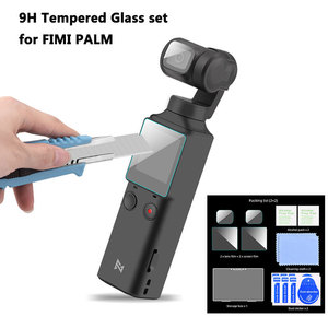 9H Tempered Glass Camera Lens Screen Film Protector for FIMI Palm Gimbal Camera Anti-Scratch PET Soft Film Protective Accessory