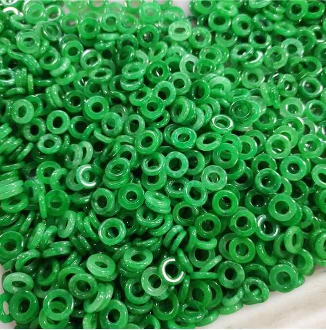 20 pc jade verde 10mm redonda grânulo acessórios diy pulseira charme jóias moda mão-esculpida sorte amuleto presentes