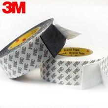 Fita adesiva lateral dobro super forte da espuma da espessura de 3m 1mm-2mm para a almofada de fixação da montagem pegajosa