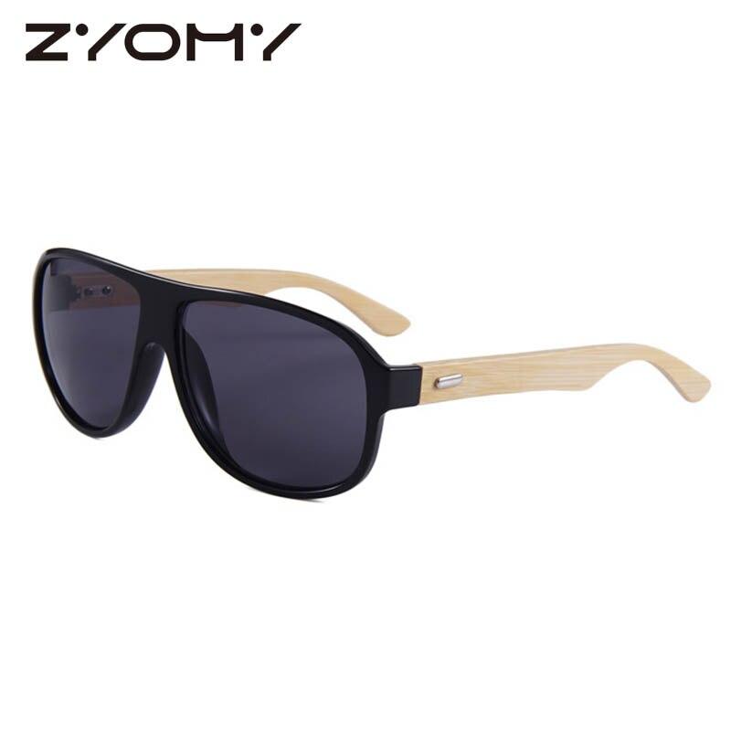 Q Gafas Women Shades Oculos de sol Prevent Bask Glasses Bamboo Leg Glasses Brand Designer Driving Goggles UV400 Men Sunglasses