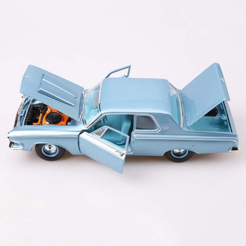 1 18 1963 330 Dicast Alloy Classic Car Model Simulation Retro Collection Metal Vehicle Toy Collectible Traffic Artwork for Fans in Diecasts Toy Vehicles from Toys Hobbies