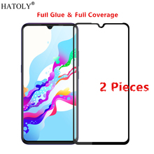 2Pcs Vivo Z5 Glass Tempered for Film 9H Full Glue Cover Hard Screen Protector Protective V1921A