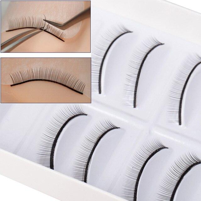 Тренировочные ресницы ICYCHEER для наращивания ресниц, принадлежности для практики макияжа, накладные ресницы