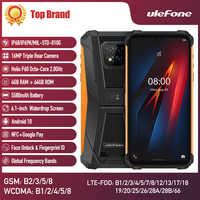 Ulefone armadura 8 Smartphone 5G Wifi Android 10 resistente teléfono móvil Octa-core 6,1 pulgadas impermeable Helio P60 4GB 64GB teléfono móvil