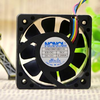 50mm wentylator do NONOISE G5015M12D1 + 6 12V 0 2A 50*50*15mm 4pin PWM samochodowy sprzęt Audio wentylator tanie i dobre opinie haykea CN (pochodzenie) Do obudowy komputerowej 100 000 godzin 4 LINIE G5015M12D1+6 Z tworzywa sztucznego