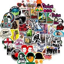 10 Вт, 30 Вт, 50 шт./упак. много видов классический Стикеры из фильмов для скейтборд шлем Подарочная коробка компьютер ноутбук машины детские тр...