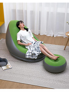 Stool Chair Ottoman-Set Inflatable-Sofa-Chair Lazy-Sofa Relax Garden And for Home