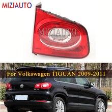 Rear tail light Inner Side For Volkswagen TIGUAN 2009-2011 turn signal Brake Light Tail stop Bumper fog lamp стоимость