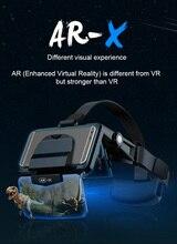 Очки виртуальной реальности 3D VR, сенсорная гарнитура для смартфонов, картонные очки для смартфонов Android 3 D Lense