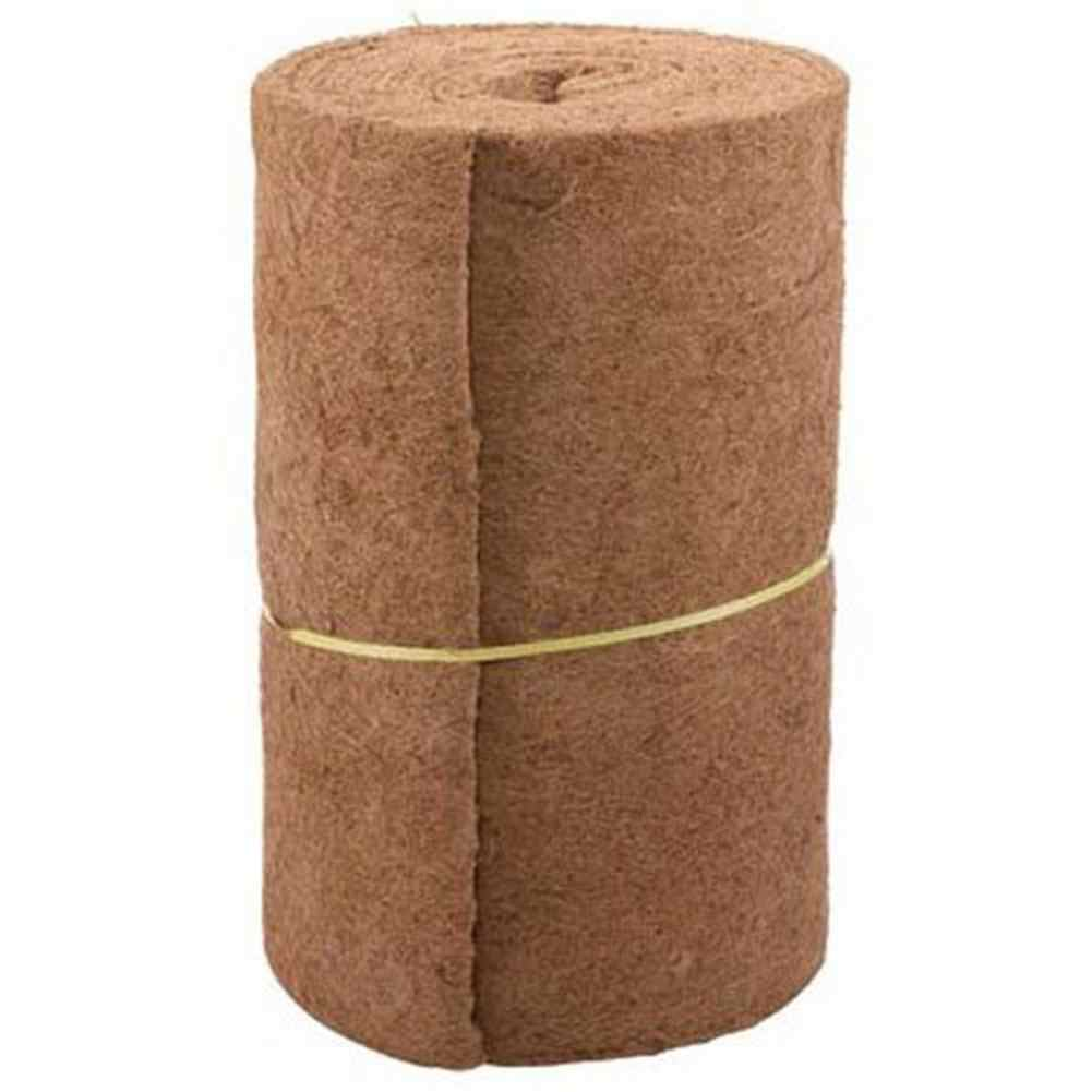 24inch Width And 33inch Lenth For Wall Hanging Baskets Coir Mat Bulk Roll Natural Coconut Fiber Mat Reptile Pet Breathable Pads