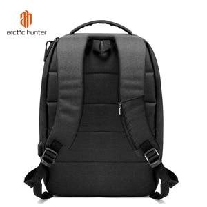 Image 3 - ARCTIC HUNTER New USB Laptop Mens Backpack Waterproof Leisure Bag Sport Travel Business Notebook Male Bag Schoolbag Pack