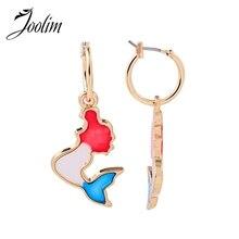 Joolim Cute Enamel Hoop Earring Gift