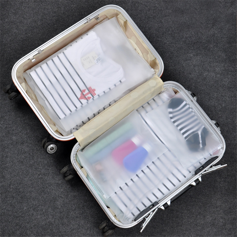 Vogvigo Transparan Tas Kosmetik Makeup Perjalanan Case Zipper Membuat Tas Organizer Kantong Penyimpanan Perlengkapan Mandi Wanita Mencuci Kit