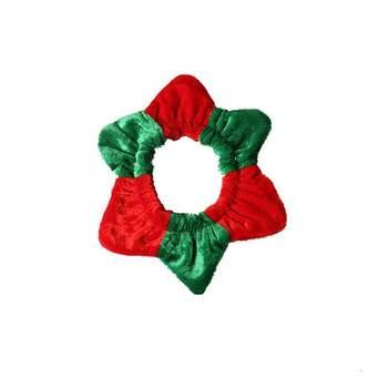 Хорошее качество домашнее животное Рождество красный и зеленый сшивание ювелирных изделий Воротник