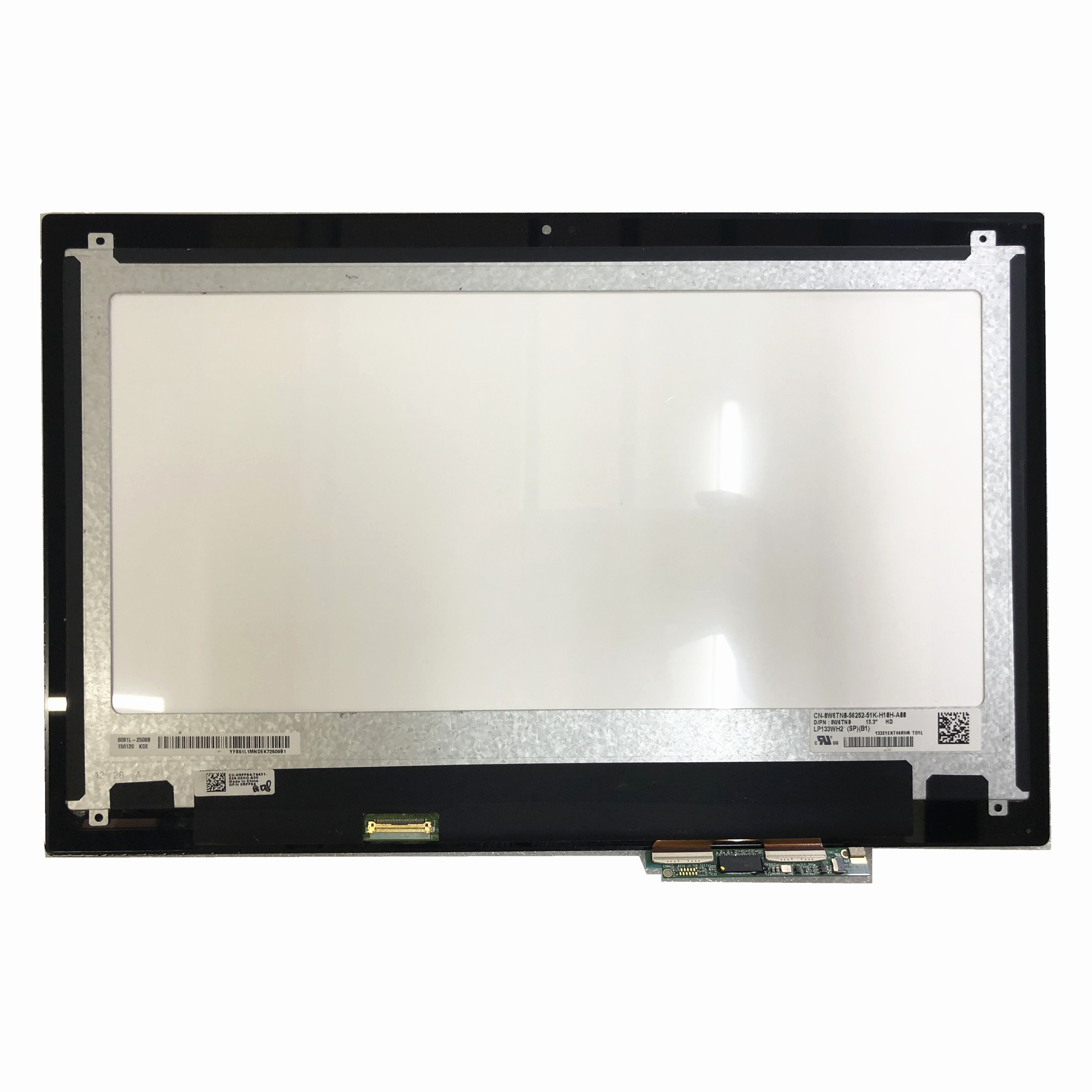 13,3 ''ноутбук ЖК экран сенсорный дигитайзер сборка LP133WH2 SPB1 для Dell Inspiron 13 7000 7347 D/PN: 0W6TN0