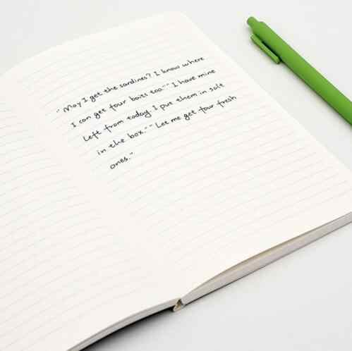 2 ピース/ロット youpin mijia kaco グリーン高貴紙のノートブック pu カバースロットブックオフィス旅行ギフト高級書かれた紙日記帳