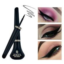 Eyeliner noir liquide longue durée résistant à l'eau, crayon de maquillage waterproof, 1 pièce, accessoire de beauté, cosmétique, facile à porter, nouveauté