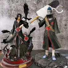 25 CM GK Akatsuki Hoshigaki Kisame PVC Model Toys Naruto Shippuden Action Figure Uchiha Itachi Shark Might Guy Collectible Toys
