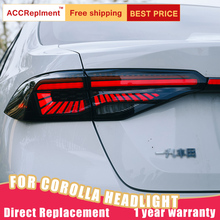 Achterlicht Montage Voor Toyota Corolla 2020 Led Sequential Richtingaanwijzer Led Running Light Led Remlicht Led Reverse Licht 1 paar