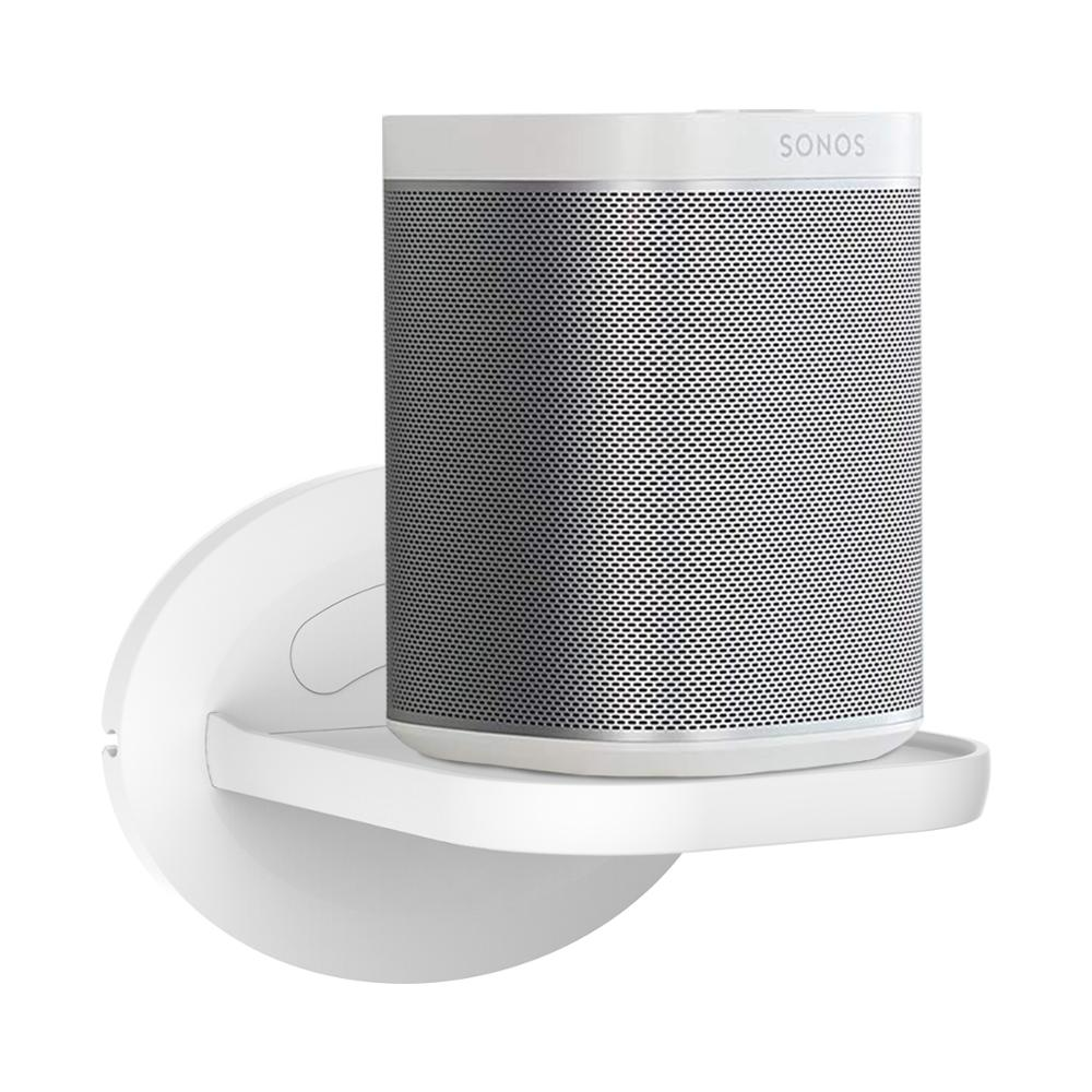 Wall Mount Shelf Holder Stand For Amazon Echo Dot (3rd Gen) Google Home Mini Sonos One Play:1 And More Home Security Camera