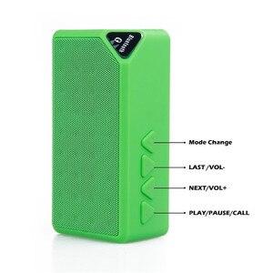 Image 3 - Mini Bluetooth רמקול אלחוטי נייד מוסיקה צליל תיבת סאב רמקולים עם מיקרופון תמיכה TF USB