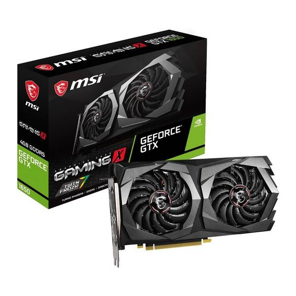 Carte graphique Gaming MSI NVIDIA GTX 1650 4 go GDDR5