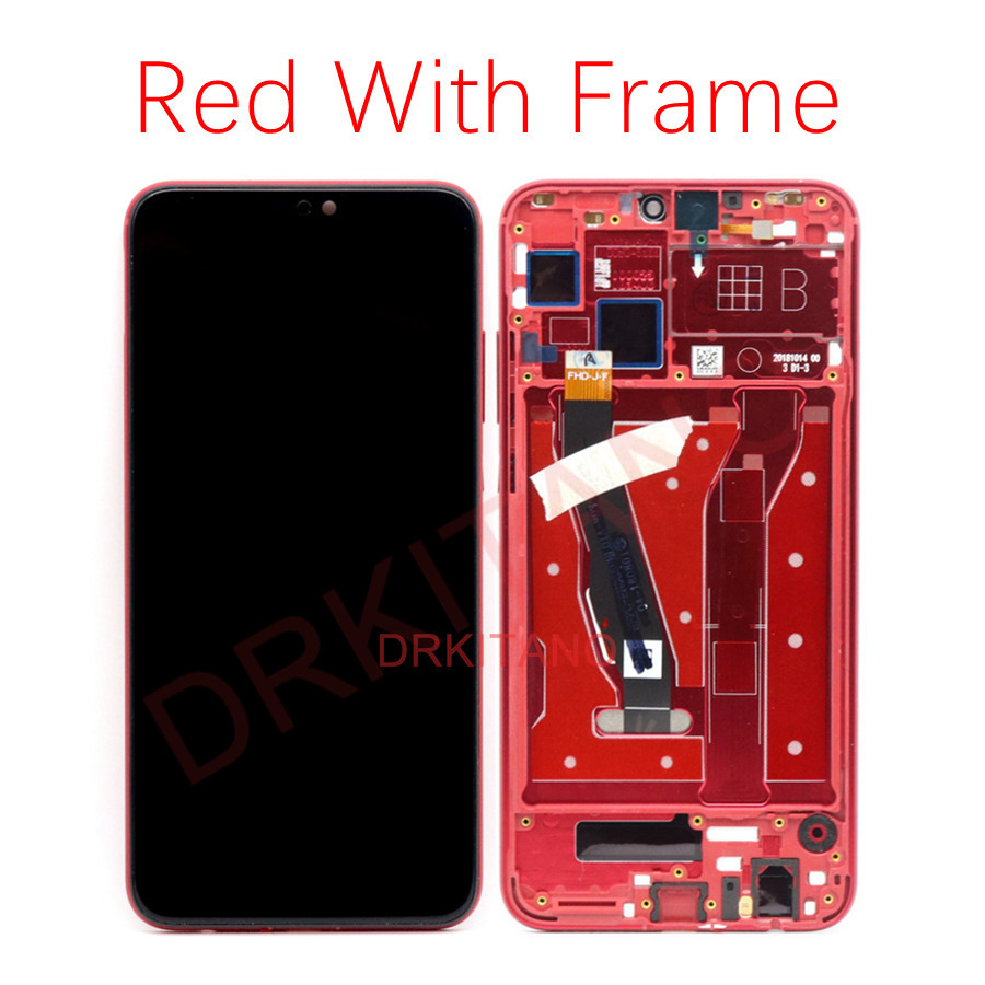 Image 4 - Screen For Huawei Honor 8X LCD Display Touch Screen With Frame Honor View 10 Lite Display JSN L21 L22 L23 L42 LX1 Honor 8X LCD-in Mobile Phone LCD Screens from Cellphones & Telecommunications