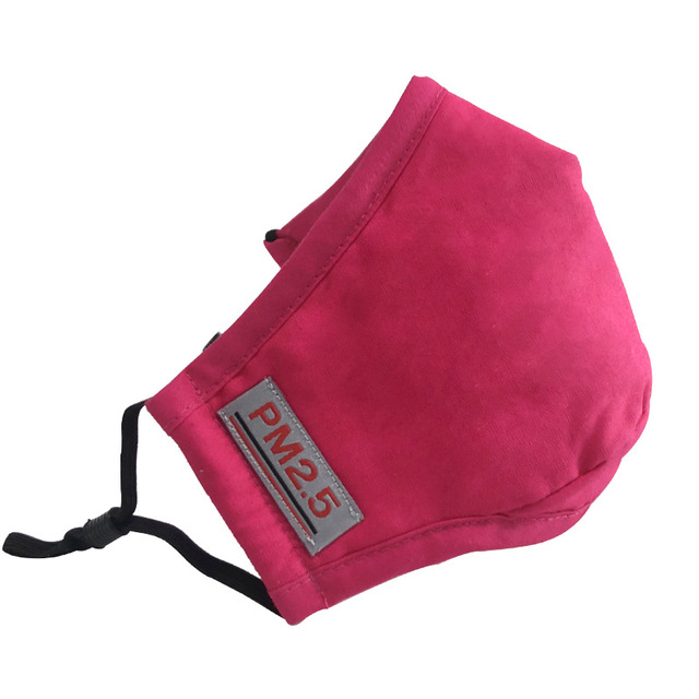 PM2.5 cotton into the population mask KN95 dust mask activated carbon filter windbreaker muffin anti-flu mask 2