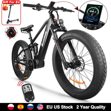 Electric Bicycle Ebike Mountain-Bike Snow Bafang 1000w 9-Speeds 26inch Beach 48V Mens