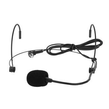 Uni-Directional Head-mounted Headworn Headset Ear-hook Microphone Mic Flexible Wired Boom for Voice Amplifier Amp Loudspeaker