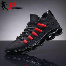 Мужские кроссовки для бега pulomies повседневные весенние на