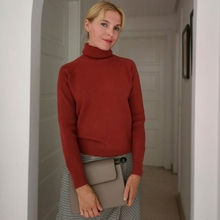 Thick Loose Turtleneck Pullover