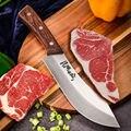 4Cr13Mov Профессиональный обвалочный нож Убойный дом специальный Мясник ягненок скот кровотечение нож Eviscerating кость и нож для мяса