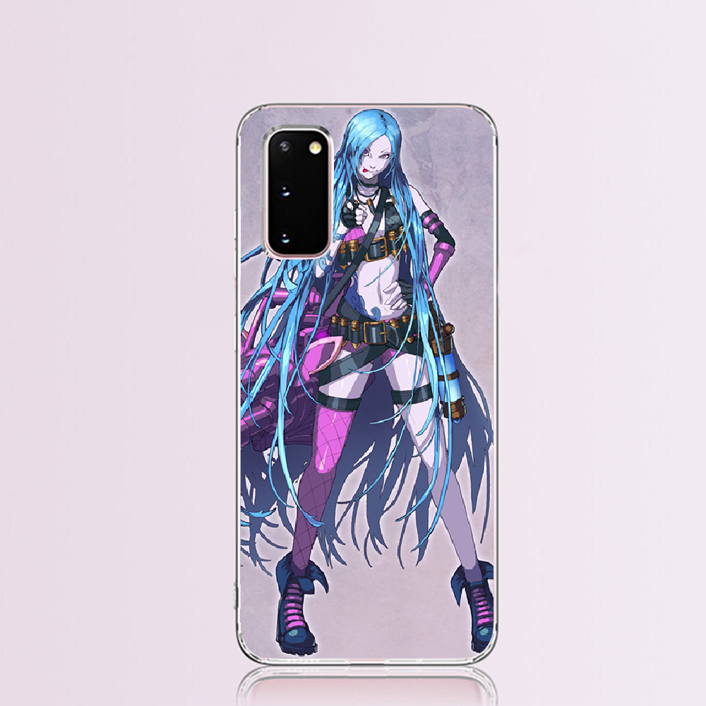 Nbdruicai league of legends lol herói duro luxo design exclusivo telefone capa para samsung s9 plus s5 s6 s7 borda s8 s10 plus