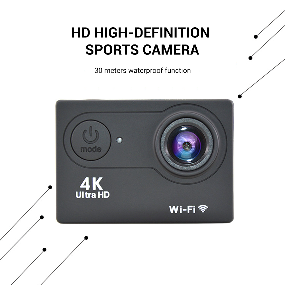 Original H9 Action Camera Ultra Hd 4k 30fps Wifi 2 170d Underwater Waterproof Gopro Video Recording Cameras Sport Cam