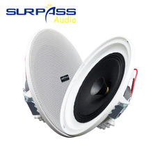 Framless Stereo In-Ceiling Speaker Mini Size Background Music Hearing Column Flush-mounted Smart Home Recessed Speakers