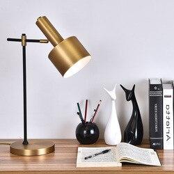 Nowoczesny szklany stół lampy prostota w stylu nordyckim sypialnia lampka do czytania przy łóżku dekoracja wnętrz led lampy stołowe e27 lamparas oświetlenie w Wiszące lampki od Lampy i oświetlenie na