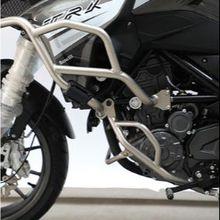 Motorcycle Engine Bumper Guard Crash Bars Protector Steel For Benelli TRK251 TRK 251 2018 2019 Bumpers Upper   Lower crashbar