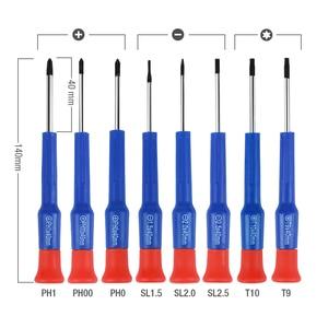 Image 5 - WORKPRO Juego de destornilladores de precisión para teléfono, 55, destornillador de PC, juego de destornilladores de precisión