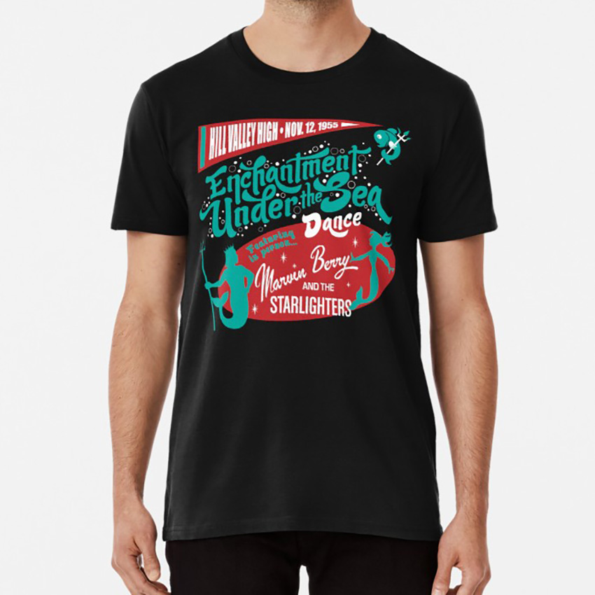 Marvin Berry and the Starlighters Back to the Future 80s mens film t-shirt