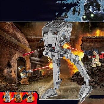 In Stock 05052 lepining Star Series Wars 10174 At Walker St Model Set Building Blocks Brick Assembling Kids Christmas Toy