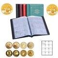 120 листов  держатель для монет  4 вида цветов  альбом для монет  портативный Альбом для монет  Пенни  чехол для хранения денег  папка для хранен...