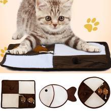 TPFOCUS Pet Pad Sisal Cat Scratch Catnip Mill Claw Wear-resistant