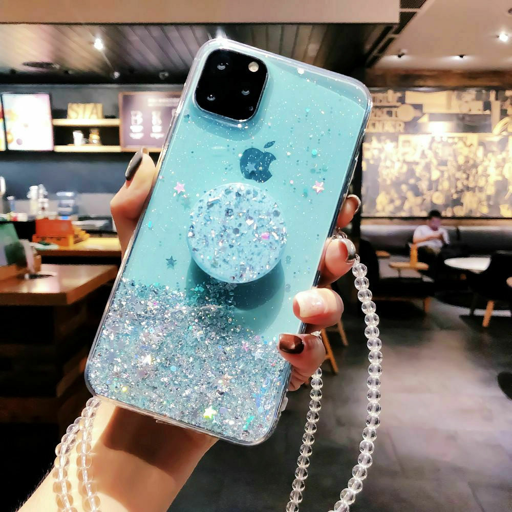 Bling Glitter Standing Case For iPhone Models Plus Slim Case With Stand Holder 24