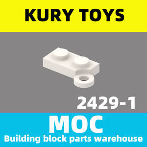 Hinge-Plate Kury-Toys Building-Block-Parts MOC Locking-Hinge DIY for 2429 Swivel-Base